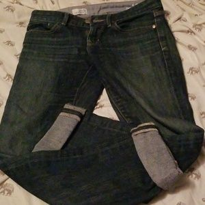 Gap real straight Jeans EUC